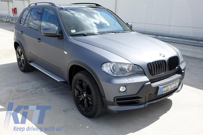Running Boards Side Steps Bmw X5 E70 2007 Up