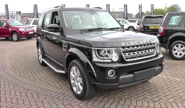 Deployed Side Steps For Range Rover Genuine Accessory: Running Boards Side Steps Land Rover Discovery III/IV