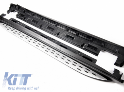 Running Boards Side Steps Mercedes Benz ML (2011-2014) Mercedes GLE W166 (2015-up) - RBMB01