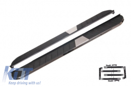 Running Boards Side Steps Mitsubishi Outlander III 2012-2018 / ASX 2010-2018 KITT Design