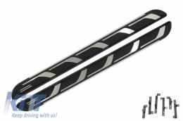Running boards Side Steps suitable for AUDI Q5 8R (2008-2016) KITT Design - RBA02B