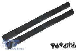 Running Boards Side Steps suitable for JEEP Wrangler / Rubicon JK (2007-2017) 4 Doors Retro Design - RBJEWJK4D