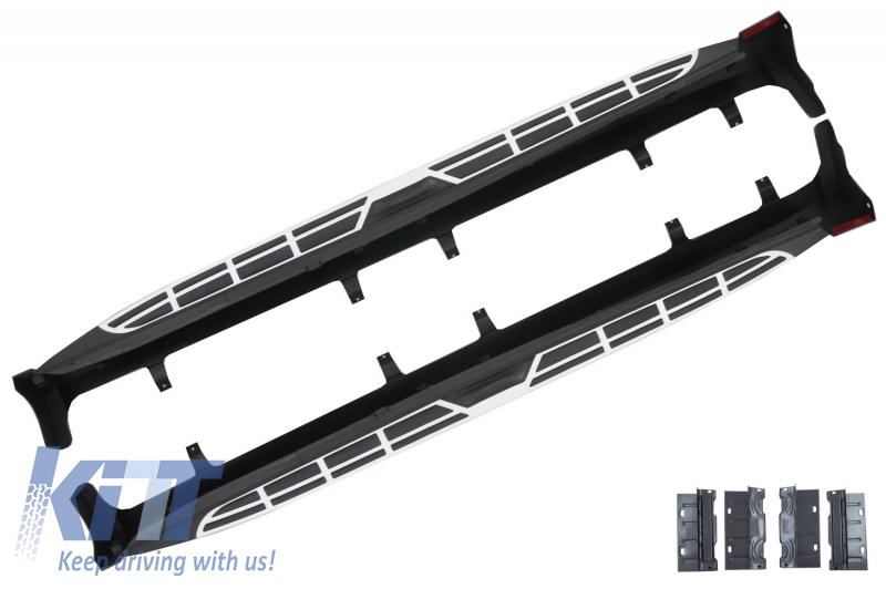 KITT RBBM05 Running Boards Side Steps Stairs 2009-2014