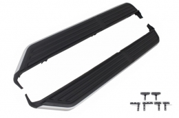Running boards Side steps  suitable for Land ROVER   Discovery III/IV (2006-up) - RBRR04