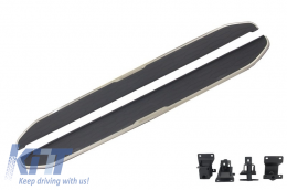 Running boards Side steps  suitable for Land ROVER Discovery Sport L550 (2014-Up) - RBRR08