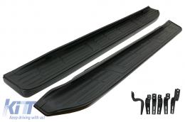 Running Boards Side Steps suitable for Toyota Land Cruiser Prado FJ150 (2010-Up) - RBTOLCFJ150