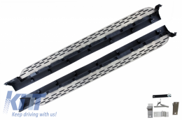 Running Boards Side Steps suitable for VOLVO XC90 SPA (2015-Up) Brilliant Black