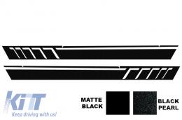 Side Decals Sticker Vinyl Black Mercedes G-class W463 (1989-2017) AMG Design - STICKERW463