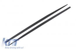 Side Skirts Add-on Lip Extensions BMW F10 F11 5 Series (2011-Up) M-Performance Design - SSLBMF10MP