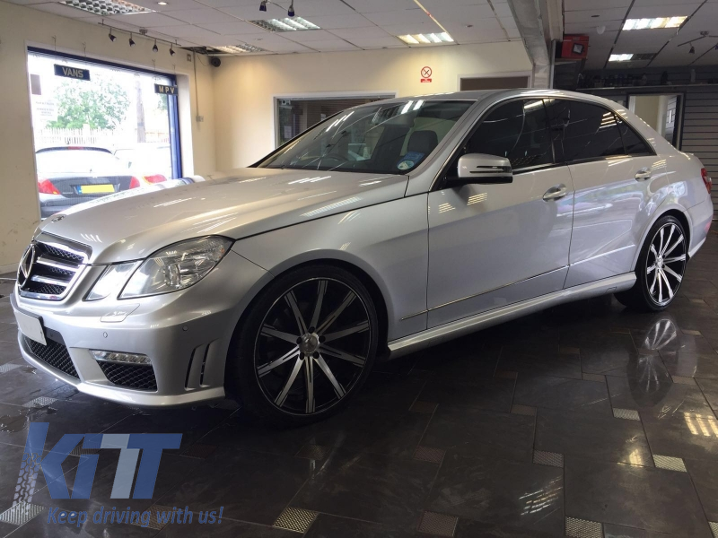 side skirts mercedes benz e class w212 2009 up amg design