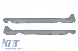 Side Skirts suitable for AUDI A7 4G (2011-2014) RS7 Design High Quality Polyurethane - SSAUA74GRS