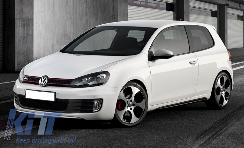 look for save off fantastic savings Side Skirts suitable for VW Golf 6 VI Mk6 (2008-2014) GTI Look