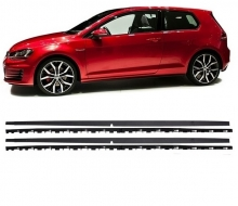 Side Skirts suitable for VW Golf 7 VII GTI Look - SSVWG7GTI