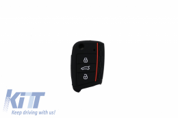 Silicone Car Key Cover suitable for VW Seat suitable for SKODA (2014-up) - KCVW02