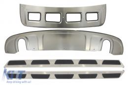 Skid Plates and Running Boards Off Road suitable for AUDI Q5 8R (2008-2012) - CORBA02OE