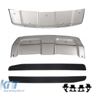 Skid Plates Bumper Protection suitable for Range ROVER (L494) (2014-up) with Running Boards Sport - COSPRRSL494RB
