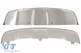 Skid Plates Off Road suitable for BMW X6 E71 (2008-2014) stainless steel - SPBME71