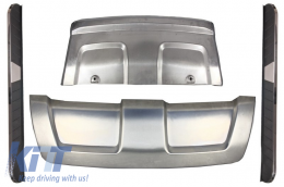 Skid Plates Off Road with Running Boards  suitable for Land ROVER Range ROVER Evoque (2011-2014) Pure & Prestige - CORRSPPP03