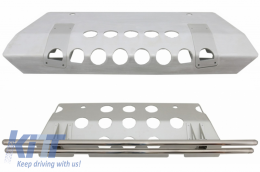 Skid Plates Under Run Protection Guard suitable for MERCEDES G-class W463 (1989-2017) 4X4 Design - COCBMBW463AMG4X4
