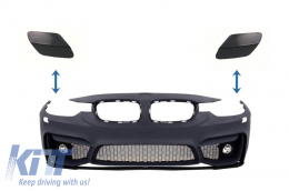 SRA Covers Front Bumper BMW 3er F30 (2011-up) M3 M-tech Design - SRABMF30M3