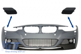 SRA Covers Front Bumper BMW 3er F30 F31 Sedan Touring (2011-up) M-tech/M Performance - SRABMF30MP