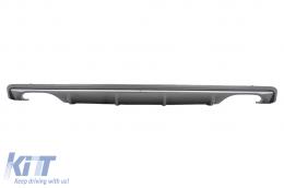 Suitable for AUDI A3 8V Sedan (2012-2015) Rear Bumper Valance Diffuser S3 Design - RDAUA38VS