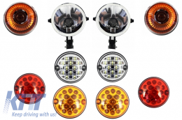 suitable for Land ROVER  Defender (1990-2016) Upgrade Lights Package - HLLRDF