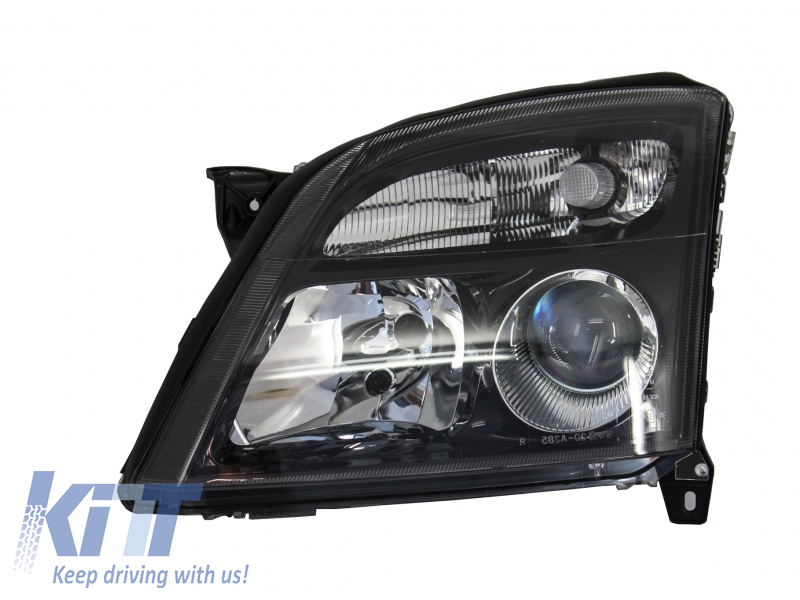 Suitable For Opel Vectra C Signum 2002 2005 Replacement Left Side Headlight Black Background 1825983