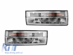 taillights BMW E30 9/87-10/90 _ crystal - RB09AC