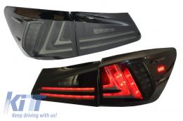 Taillights Full LED LEXUS IS XE20 (2006-2012) Light Bar Facelift New XE30 Smoke - TLLXISXE20S
