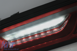 Taillights Full LED suitable for Chevrolet Camaro (2015-2017) Sequential Dynamic Turning Lights Red - TLCHECAMAROR