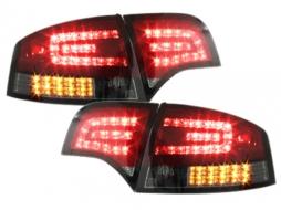 Taillights LED Audi A4 B7 Limousine (2004-2008) LED BLINKER Red/ Smoke