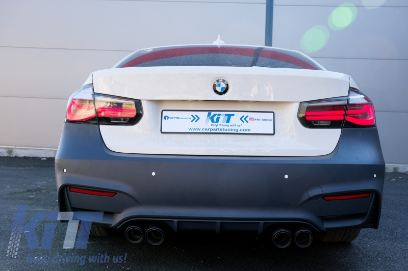 Taillights M Performance Black Line Suitable For Bmw 3 Series F30