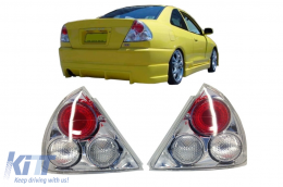 Taillights Mitsubishi Mirage Lancer 95-97 Coupe/Sedan Tail Rear Lights clear