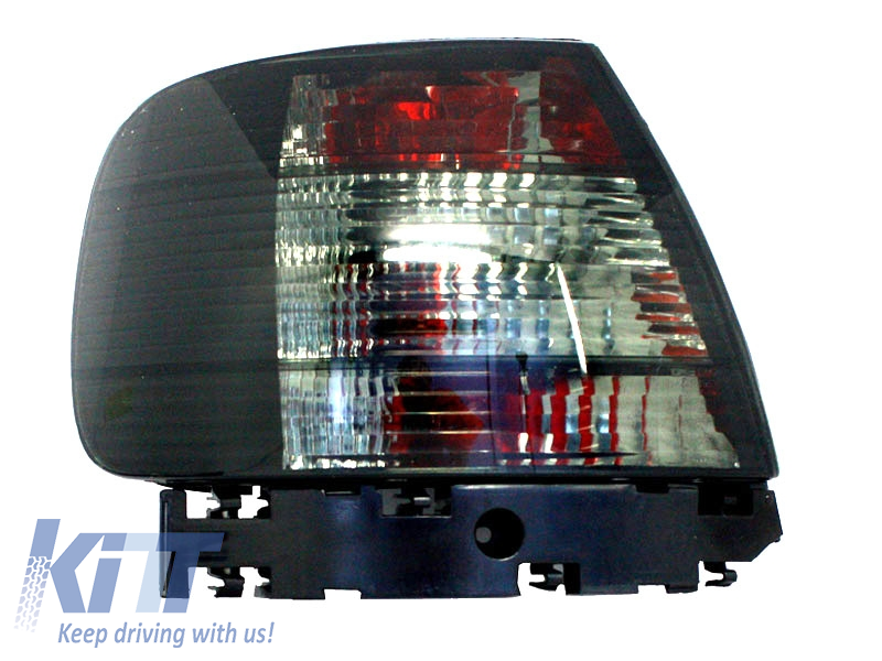 taillights set in RED WHITE CLEAR finish for AUDI A4 B5 Limo 95-00