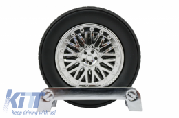 Tire Shape Coaster Tire Wheel Gift Set - UNIVERSALSC