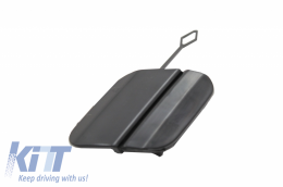 Tow Hook Cover suitable for Rear Bumper S63 AMG Design Mercedes Benz W222 S-Class Facelift (2017-UP) - THCRBMBW222S63F