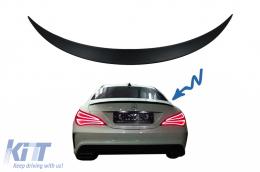 Trunk Boot Lid Spoiler suitable for MERCEDES CLA C117 W117 (2013-2018) 4 Door Coupe - TSMBW117AMG