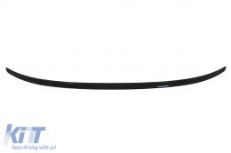 Trunk Boot Spoiler suitable for BMW 5 Series G30 (2017-Up) M5 Design Matte Black - TSBMG30M5