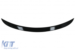 Trunk Boot Spoiler suitable for MERCEDES GLC C253 Coupe (2015-2019) Piano Black - TSMBGLCX253NPB