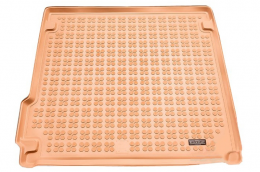 Trunk Mat beige suitable for BMW X5 (F15) 2013-