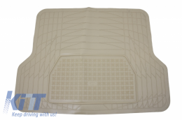 Trunk Mat Beige Universal Adaptable - 220101B