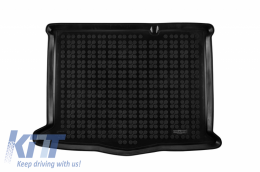 Trunk Mat Black suitable for Ford FOCUS IV version with an irregular size spare tire  2018- - 230470