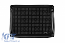 Trunk Mat Black suitable for Ford FOCUS IV version with full size tire 2018 - 230469