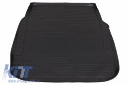 Trunk Mat Black suitable for MERCEDES Benz S-Class W221 (2005-2012) Black - TMP22016