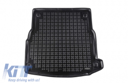 Trunk Mat Black suitable for MERCEDES W213 E-Class Limousine 2016- - 230949