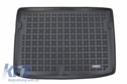 Trunk Mat Black suitable for OPEL CROSSLAND X 2017- - 231156