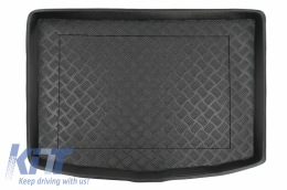 Trunk Mat Black Without NonSlip suitable for Nissan Juke (2014-2019) - 101039