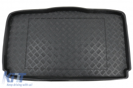 Trunk Mat Black without NonSlip suitable for Suzuki Ignis II (2003-2008) - 101606