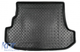 Trunk Mat Black without NonSlip suitable for Subaru FORESTER II (2002-2008) - 103002